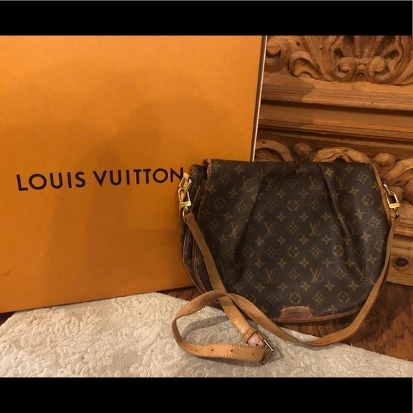 Louis Vuitton Menilmontant MM large shoulder bag